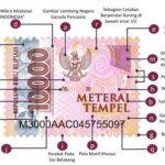 Penampakan Materai Rp 10.000 yang Sudah Resmi Meluncur