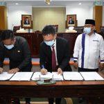 Pendapat Akhir Wali Kota Raperda APBD 2021 dan RPJMD