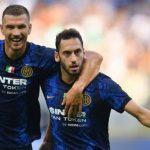 Debut Gemilang Dzeko dan Calhanoglu, Inter Bantai Genoa 4-0