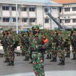 400 Personel Pasukan Setan Berangkat ke Papua Menggunakan KRI Banjarmasin