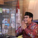 Halalbilhalal, Gus Menteri Apresiasi Kerja Keras Para Kades