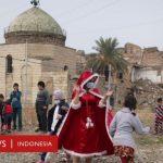 Umat Islam dan Kristen Irak Bareng Bangun Masjid dan Gereja yang Dibom ISIS