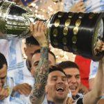 Juara Copa America 2021, Argentina Samai Rekor Uruguay