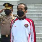 Lepas Kontingen Indonesia ke Olimpiade Tokyo, Jokowi: Rakyat Menaruh Harapan Besar