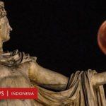 Gerhana Bulan Total Super Blood Moon Siap-siap Muncul 26 Mei