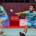 Hafiz / Gloria Terhenti di Babak Pertama Turnamen Swiss Open 2021