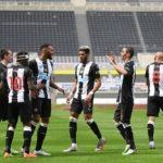 Newcastle United Ditahan Imbang Dengan 10 Pemain Fulham, Skor Akhir 1-1