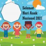 20 Link Twibbon Peringati Hari Anak Nasional 2021 Lengkap Cara Memasang