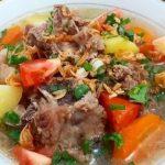 Resep Sup Iga Sapi yang Lezat dan Nikmat