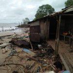 Pemukiman Warga di Pesisir Kendawangan Semakin Terancam Abrasi