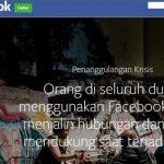 Pantau Gempa Palu, Ini Cara Ketahui Kerabat dengan Fitur Facebook