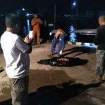Tim SAR gabungan evakuasi mayat korban kapal KLM di Perairan Mangkut