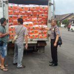 Polisi amankan 4 Ton pangan Ilegal Malaysia
