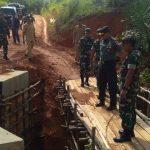 Waaster Kasad Tinjau Realisasi TMMD Desa Tanjung