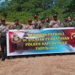 TNI dan POLRI Tangkap Penyeludupam Batu Antimoni