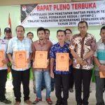 DPTHP-2 Kabupaten Bengkayang Ditetapkan 179.006 Pemilih