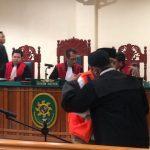 Sidang Lanjutan Kasus Ujaran Kebencian Terdakwa Isa Anshari