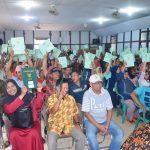 Kantor ATR/BPN Ketapang Salurkan Sertifikat Tanah