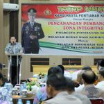 KKR Terinspirasi Raihan Predikat WBK Polresta Kota Pontianak Menuju WBBM