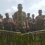 Pangdam XII/Tpr Tinjau Lokasi TMMD di Desa Batulapis
