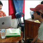 300 warga binaan Lapas Ketapang melakukan perekaman KTP Elektronik