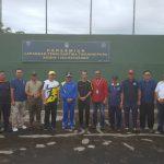 Suprapto Resmikan Lapangan Tenis Kartika Tanjungpura Ketapang