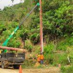 Pasca Longsor, PLN Pastikan Percepat Normalisasi Jaringan di Bukit Muntok