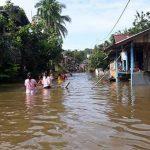Hulu Sungai di Ketapang Kebanjiran, Ketinggian Air 2 Meter