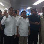 Prabowo: Terima Kasih Pak Jokowi Saya Naik MRT, Luar Biasa