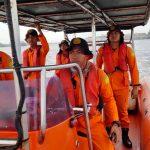 Tim SAR cari 2 kru KLM Arta Jaya di Tanjung Sambar