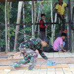 Pemudi Dusun Aur Gading Apresiasi Giat TMMD Kodim 1203/ Ketapang