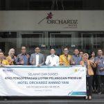 Hotel Orchardz Ayani Jadi Pelanggan Premium Tegangan Rendah PLN Pertama di Kalbar