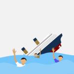 Tug Boat Mega 09 Tenggelam di Perairan Pesaguan Ketapang