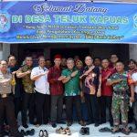 28 Desa di Kubu Raya Terapkan Transaksi Non Tunai