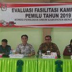 Bengkayang Evaluasi Fasilitasi Kampanye Pemilu Tahun 2019