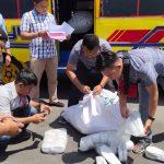 Polisi Serahkan 2.450 Pasang Sepatu Ilegal ke Bea Cukai Bengkayang