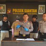 Polsek Siantan Tangkap Pelaku Senpi di Wajok Hilir