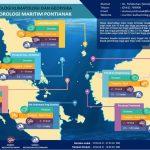Update Infografis Wilayah Kemaritiman BMKG Pontianak