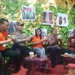 Sintang Expo 2019, Jarot Winarno Terpikat Kopi Senentang