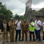 Kementrian PU Tinjau Pengerjaan Proyek Jembatan di Melawi