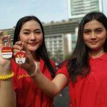 Usai Demo Ricuh, Giliran Sejumlah Perempuan Cantik Ikut Aksi Dukung RUU KPK