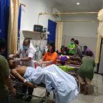 Truk Pengangkut Rombongan Pramuka SMPN 3 Tiong Keranjik Masuk Jurang di Nanga Pau Melawi