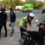Satlantas Polres Ketapang Tilang 864 Pengendara