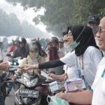 Karyawan PLN Peduli Kesehatan Masyarakat Terdampak Polusi Karhutla