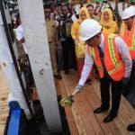 Sutarmidji Terlibat Pemasangan Tiang Pancang Pembangunan RSUD Sudarso
