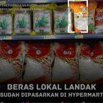 Surplus Beras Landak Sudah dipasarkan ke Kubu Raya