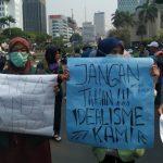 Sehari Dilantik, Jokowi Sudah Didemo Mahasiswa dari BEM Seluruh Indonesia