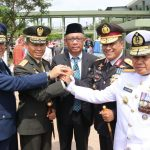 Semarak HUT TNI Ke-74 di Makodam XII/TPR