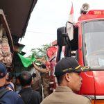 Satpol PP Monitoring Penertiban Kios Nusa Indah II