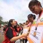 Lomba Lari Maraton 10 KM Meriahkan HUT Pemkab Landak